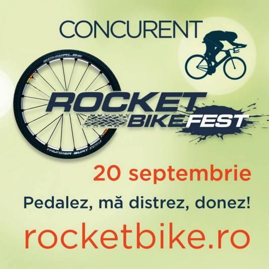 Au început înscrierile la ediția de toamnă Rocket Bike Fest!