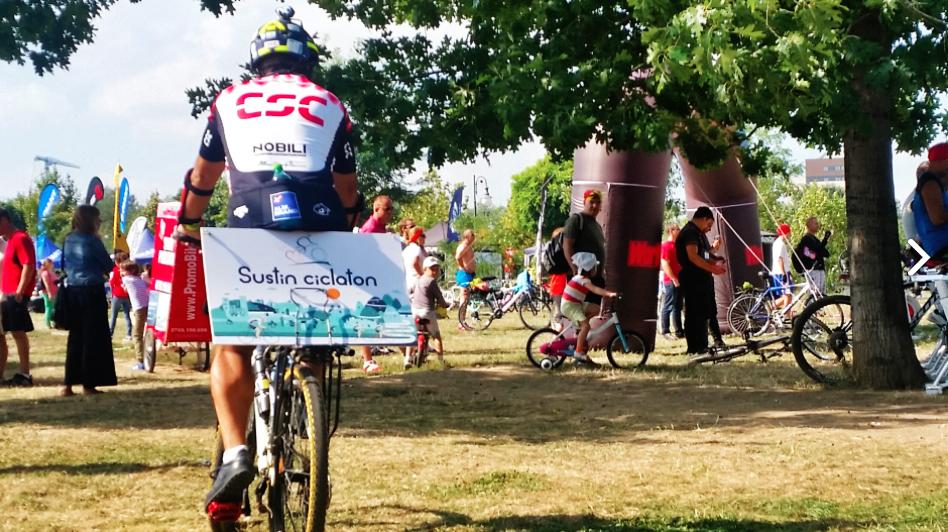 Se dă startul la Ciclaton 2014 – pedalează pentru o cauză bună