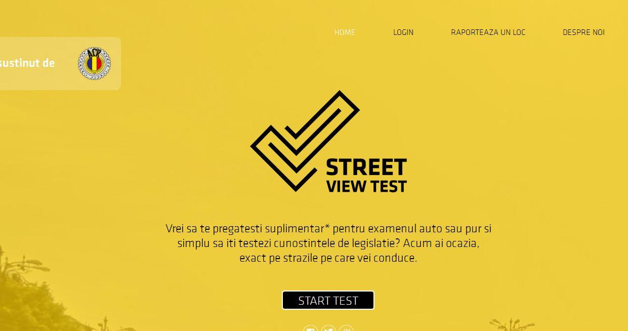Premieră în România: Ia-ți permisul auto cu Google Street View