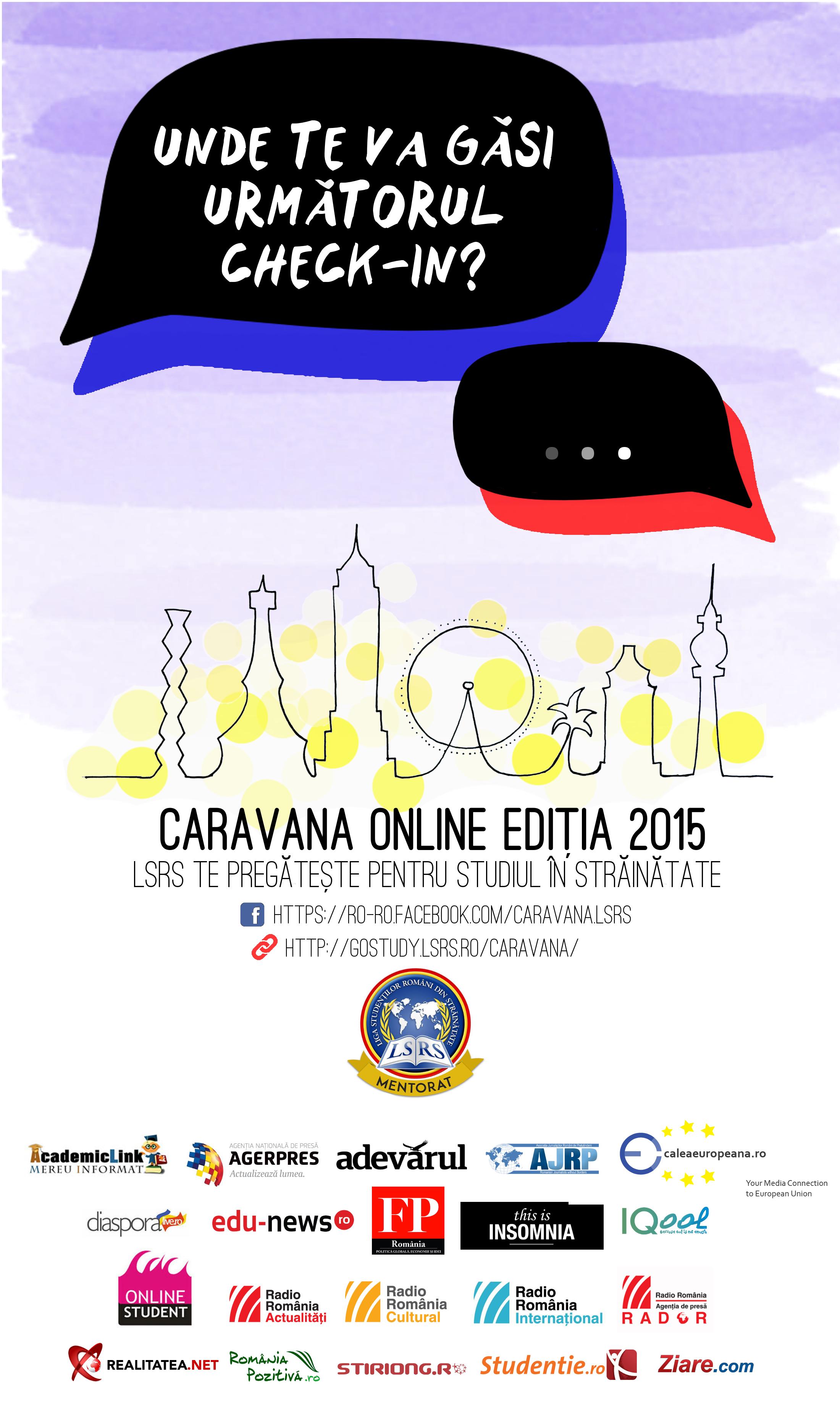 Caravana LSRS Online pornește pentru a 5-a oară la drum