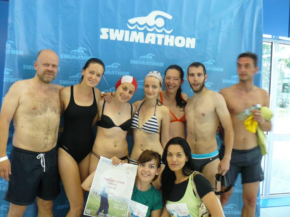 22 de proiecte la cea de a șaptea ediție a Swimathon Cluj