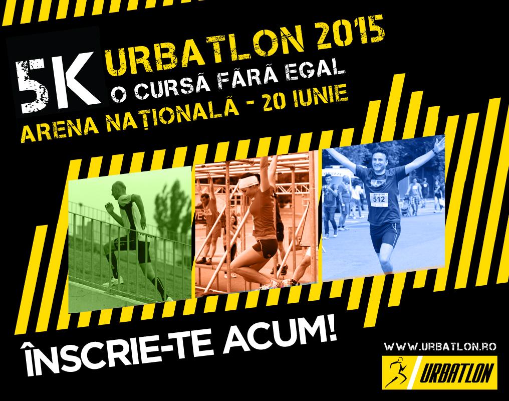 URBATLON deschide porțile distracției la Arena Națională