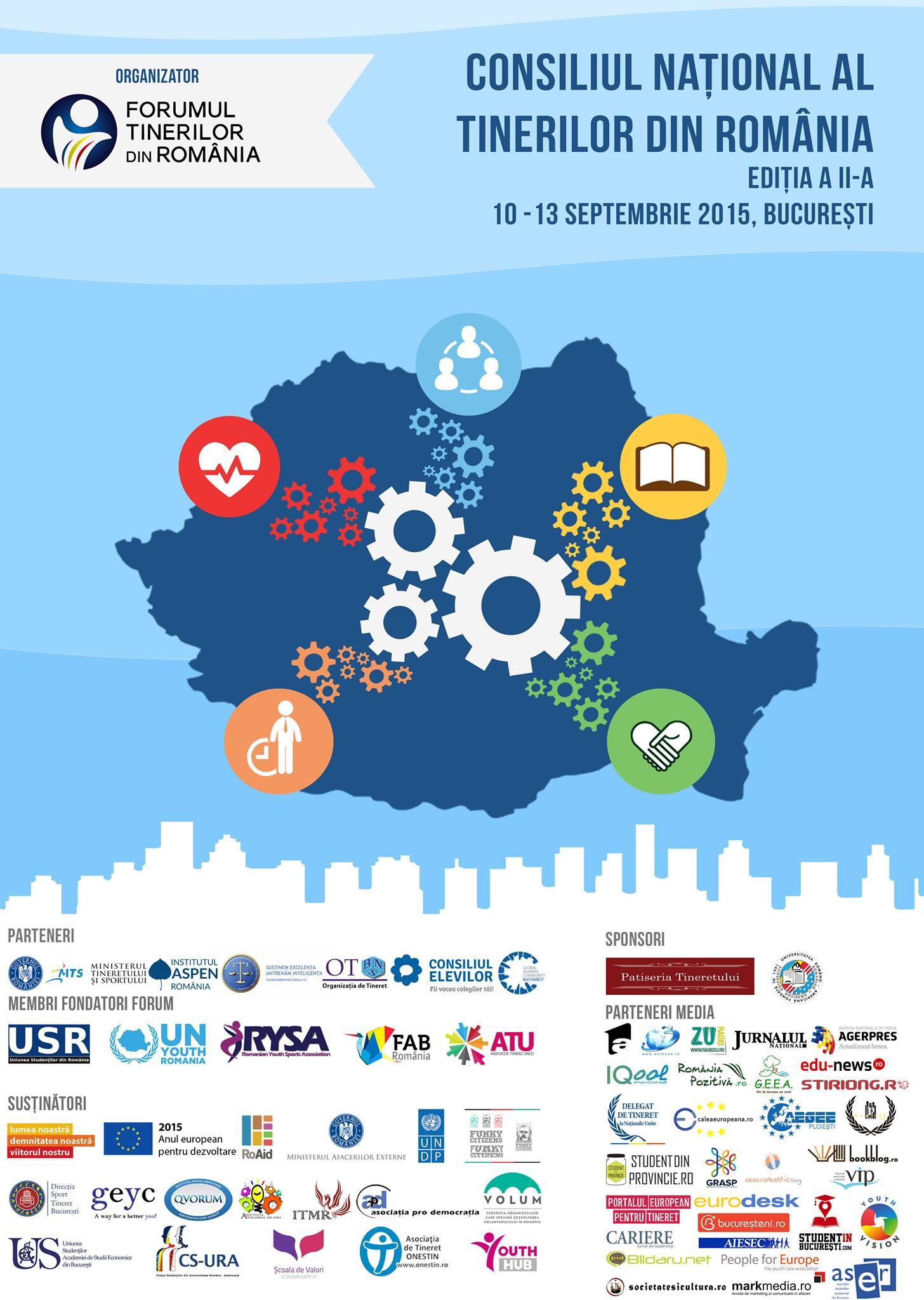 Actualizarea cadrului legislativ românesc în domeniul tineretului este importantă și urgentă!