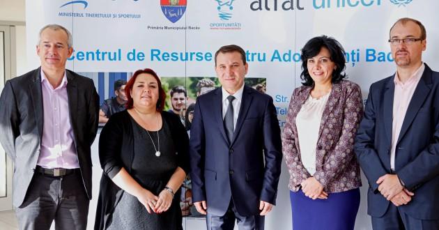 Inaugurarea centrului de resurse pentru studenți