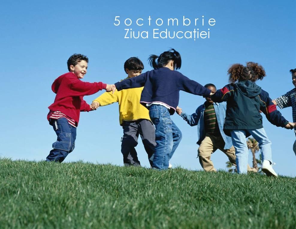 În București, Ziua Mondială a Educației se petrece acasă