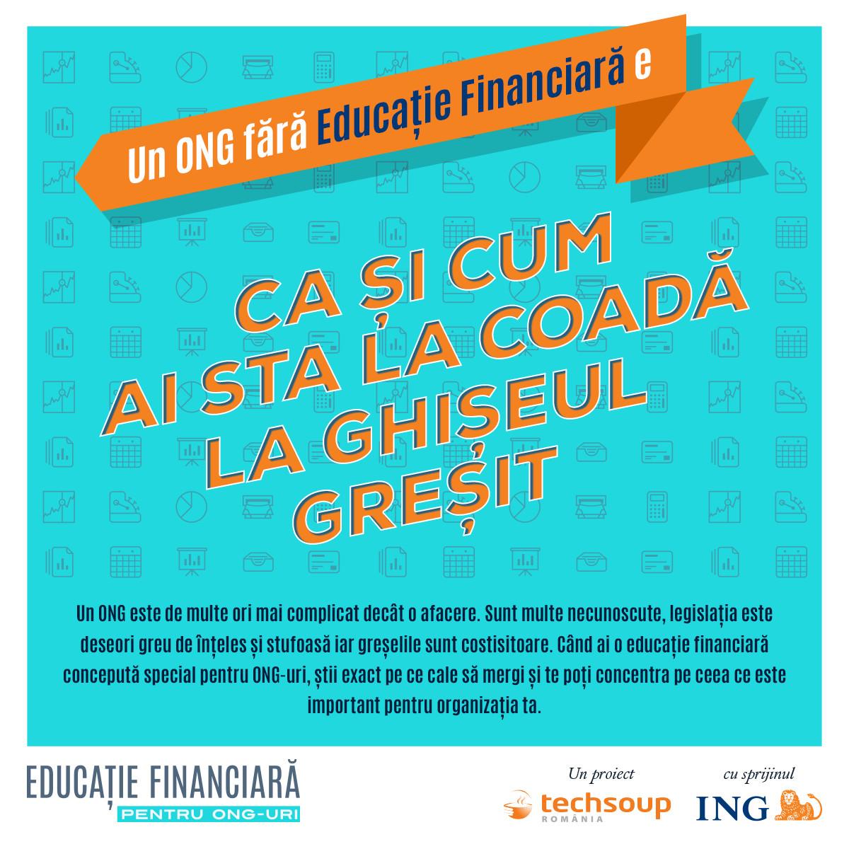 Educație Financiară pentru ONG-uri – prima platformă editorială pentru și despre responsabilii financiari din ONG-uri