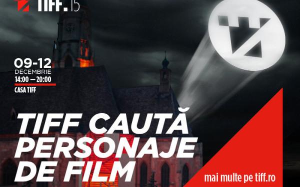 TIFF caută clujeni care seamănă cu personaje de film