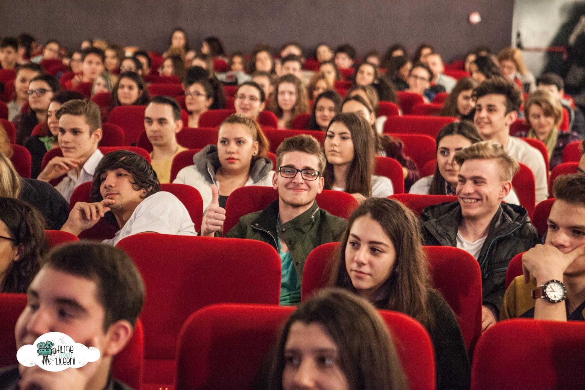 Liceenii pornesc în odiseea către Planeta Cinema