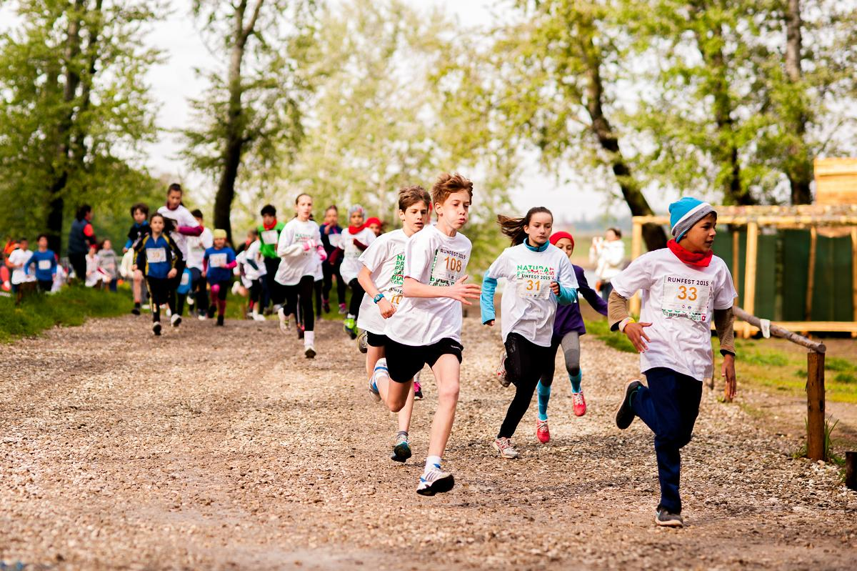 350 de copii vor participa gratuit la KIDS RACES RUNFEST cu sprijinul Ion Țiriac Foundation