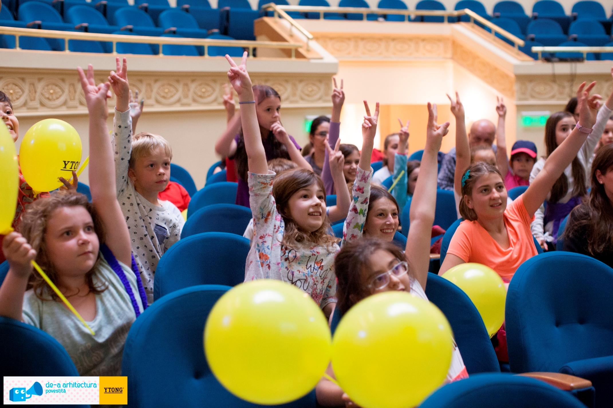 Conferințele de arhitectură preferate de peste 4000 de copii în ultimii patru ani