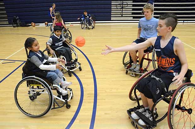 Sportul integrează persoanele cu dizabilități