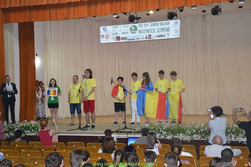Elevii români au strălucit la Olimpiada Balcanică de Juniori 2016