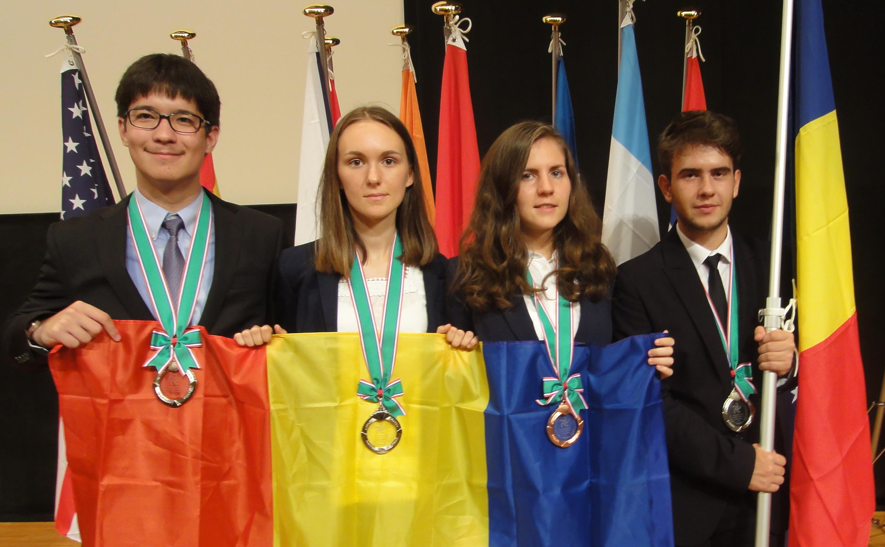 România a câștigat patru medalii la Olimpiada Internațională de Științe ale Pământului