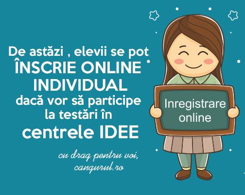 Aplicație online pentru înscrieri individuale la Proiectele Educaționale Cangurul