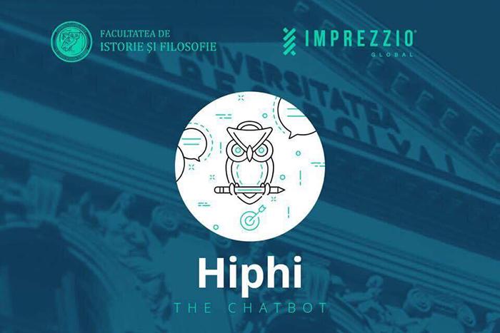 Robotul Hiphi te ajută cu admiterea la Facultatea de Istorie și Filosofie din cadrul UBB