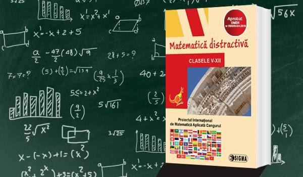 Continuă înscrierile la Proiectul Internațional de Matematică Aplicată Cangurul