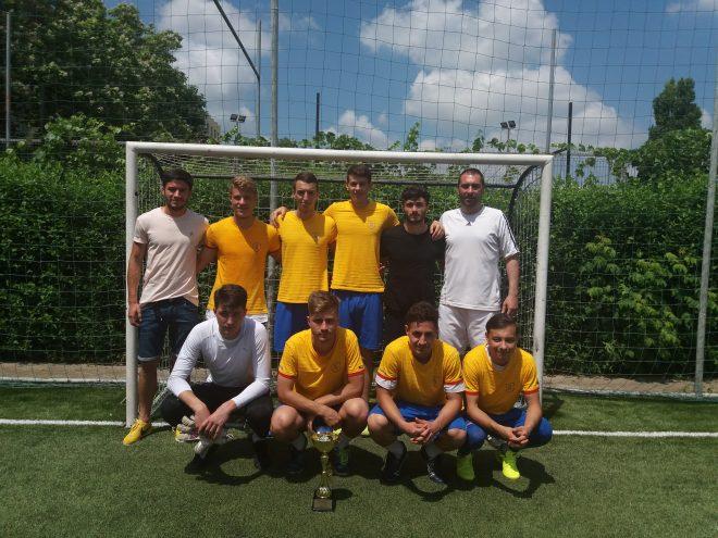 """Echipa de fotbal a UAIC, campioana la Concursul National Studentesc """"Fa pasul spre sport"""""""