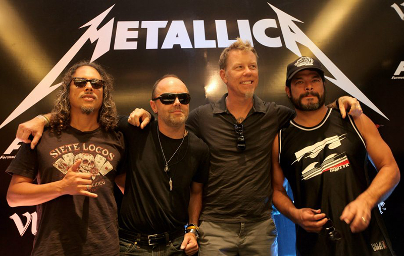 Metallica investeste 1 milion de dolari in educatie