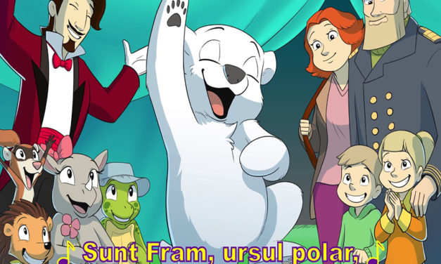 "Ai citit ""Fram, ursul polar""? Poti transforma cartea in film animat"