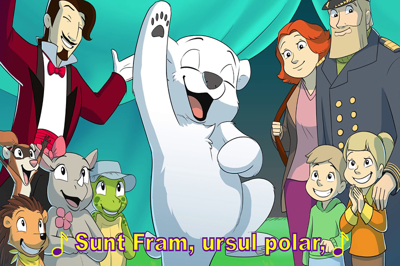 "Ai citit ""Fram, ursul polar""? Poti transforma cartea in film animat"