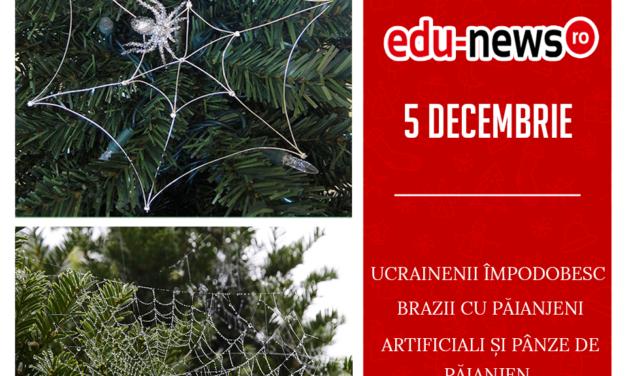 Edu-news.ro Advent Calendar – It's something elves! (5 Decembrie)