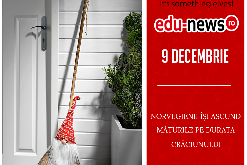 Edu-news.ro Advent Calendar – It's something elves! (9 Decembrie)