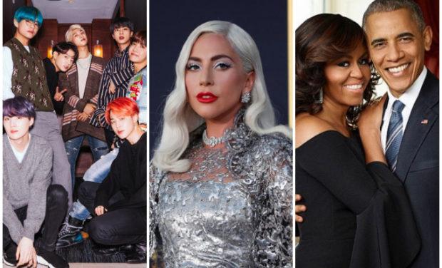 Lady Gaga si sotii Obama participa la o ceremonie de absolvire online