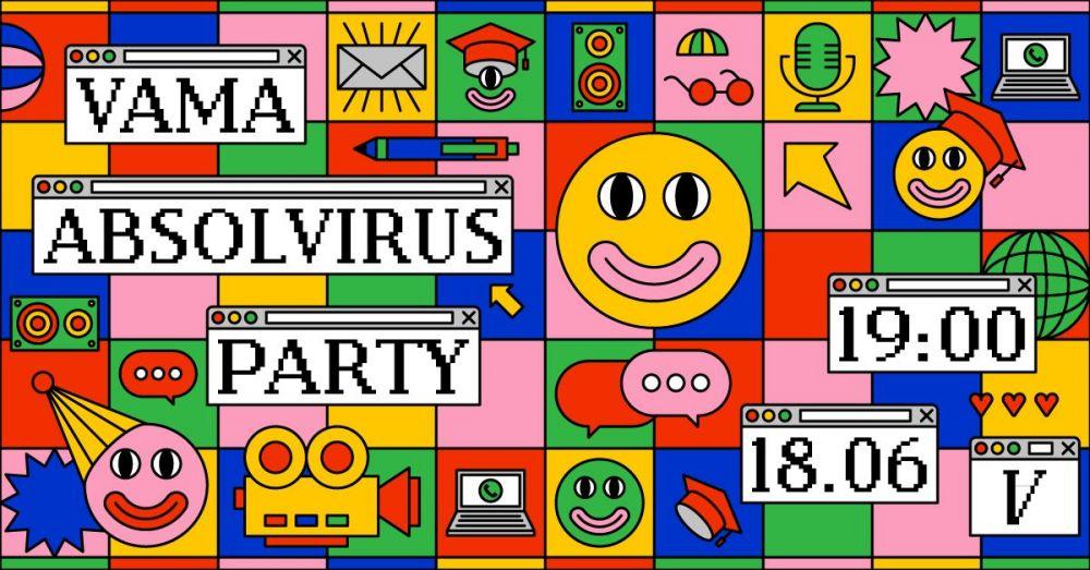 Vama susține Absolvirus Party, un concert online dedicat absolventilor 2020