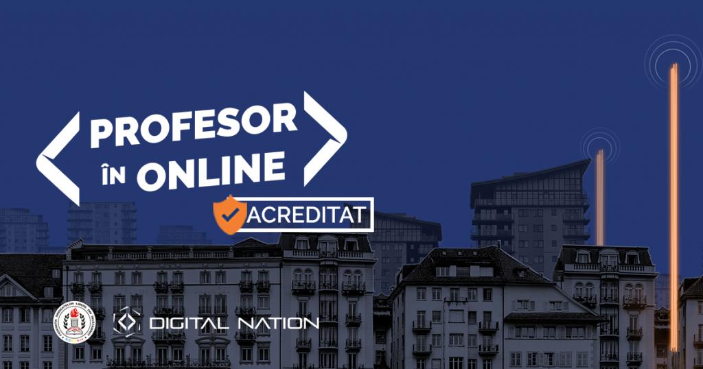 """Programul """"Profesor in Online"""" revine intr-o forma acreditata de Ministerul Educatiei"""