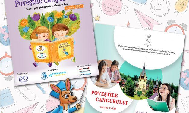 Povestile Cangurului, jocul-concurs al pasionatilor de lectura